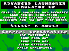 Advanced Lawnmower Simulator GP